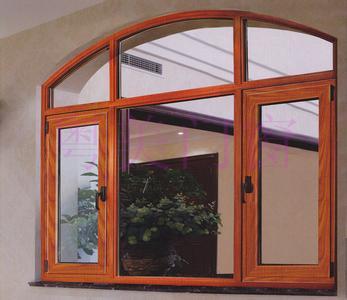 高档铝木门窗